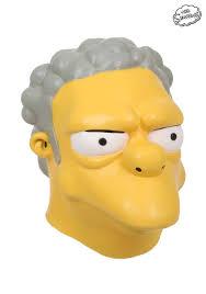 Simpsons Halloween Costumes Simpsons Moe Szyslak Mask