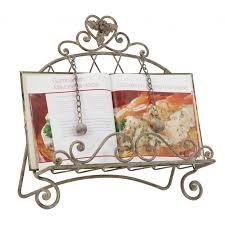 porte livre de cuisine lutrin support métal pour livre de recettes lutrin cagne et