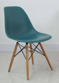 eames inspired dining table teal eames style dining chair from danetti apartment house
