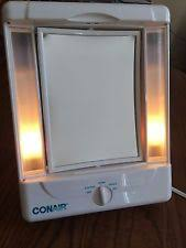conair two sided makeup mirror with 4 light settings conair double sided oval makeup mirror lighted 4 light settings