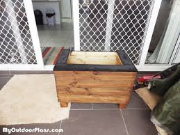 diy small planter box myoutdoorplans free woodworking plans