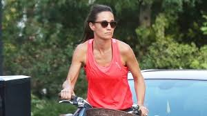 Middleton Pippa Pippa Middleton Looks Super Fit While Biking Through The Streets