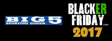 big 5 sporting goods black friday 2017 sale ad sales