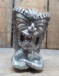 cast pewter speed tiki ornament or shifter