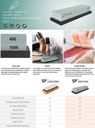 How Do You Sharpen Kitchen Knives by Premium Whetstone Sharpening Stone 2 Side Grit 400 1000 Knife