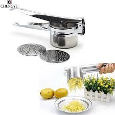 presse cuisine professionnel mash de pommes de terre ricer ballu fruits légumes
