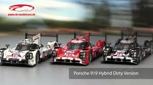 porsche prototype 2015 ck modelcars video porsche 919 hybrid dirty version 24h lemans