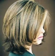medium shorter in back hairstyles short to medium layered hairstyles back flips out bing images
