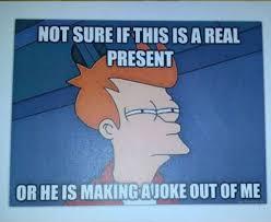 Christmas Present Meme - meme gifts 28 images creepy condescending wonka meme imgflip