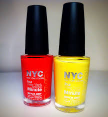 review nyc in a new york minute quick dry nail polish michelle