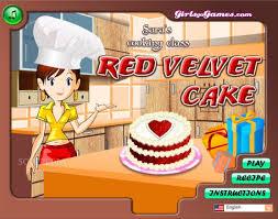 girlsgogames cuisine velvet cake s cookingforgirlgame