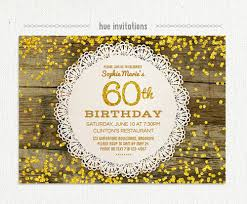 Card Party Invitation 20 Ideas 60th Birthday Party Invitations Card Templates