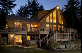 take a peek inside this gorgeous luxury cabin for rent in danbury nh