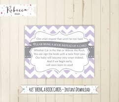 baby shower bring book instead of card lavender baby shower bring a book card baby shower printable bring