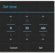 timepicker android introduction to android time picker dialog with exle