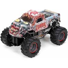 videos of remote control monster trucks new bright 1 24 scale radio control sports car walmart com