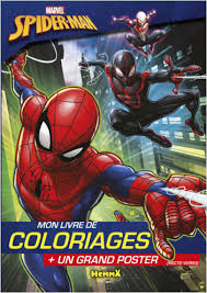 Marvel  Ultimate SpiderMan  Mon livre de coloriages  un grand