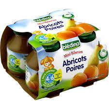 bledina siege social jus de fruits bébé dès 4 6 mois abricots poires blédina blédina