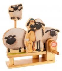 shaun sheep model kit shaun sheep wooden model kit gifts