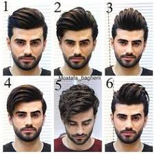 slicked back hair hairstyles for men with tutorial haircuts