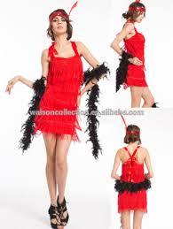 20s Halloween Costumes Fringe Flapper 1920s 20s Charleston Fancy Dress Costume Gloves