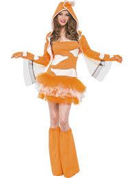 ladies clown halloween costumes fever clownfish costume 45361 fancy dress ball