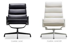 eames soft pad group lounge chair hivemodern com