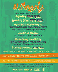 Different Names Of Green by Local Artists Display A Variety Of Talents At Skillosophy June 24
