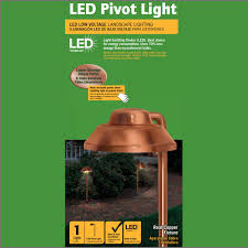 Malibu Copper Landscape Lights by Malibu Led Pivot Light Led Low Voltage Landscape Lighting 8421