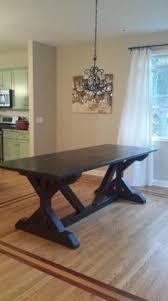 furniture kitchen tables white build a narrow farmhouse table free and easy diy