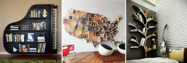 Creative Bookshelves Exceptionally Creative Bookshelves Scooplane