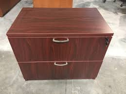 2 Drawer Lateral Filing Cabinet by Friant Gitana Mahogany 2 Drawer Lateral File Pre Owned Filing