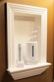 Recessed Bathroom Medicine Cabinets by Refresh Renew Medicine Cabinet Make Over Bathrooms