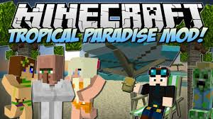 Minecraft Meme Mod - tropicraft mod 1 12 2 1 10 2 tropical paradise let s go on