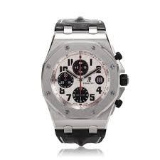 audemars piguet royal oak offshore silver dial chronograph mens