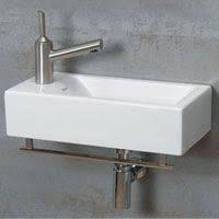 Powder Room Sink 63 Sink From Ikea Love The Slim Design And Unobtrusive Colours