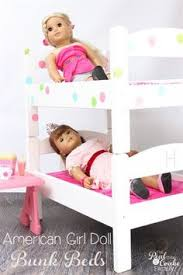 Woodworking Plans For Doll Bunk Beds by Diy American Doll Bunk Bed Woodwork Pinterest Doll Bunk