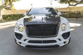 custom bentley bentayga bentley bentayga gets mansory body kit and forgiato wheels