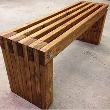 Designer Wooden Garden Bench by Best 25 Patio Bench Ideas On Pinterest Fire Pit Gazebo Pallet
