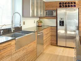 furniture inspiring practical kitchen cabinet design bamboo