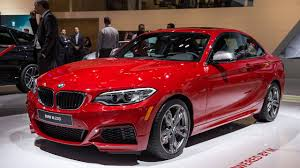 cars bmw red 2015 bmw m235i at naias photos