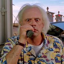Doc Brown Meme - doc brown s gift from the future the return of the modern