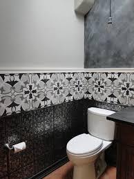 Half Bathroom Remodel by Half Bath Remodel Transitional Phoenix