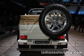 maybach landaulet mercedes maybach g 650 landaulet rear at the iaa 2017 indian