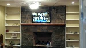 mounting tv above fireplace without studs fireplace ideas