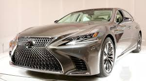 2017 lexus ls 500 redesign 2018 lexus ls five key things to know about the new generation