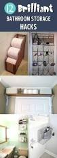 Storage Bathroom Ideas by Best 25 Clever Bathroom Storage Ideas Only On Pinterest Clever