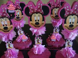 minnie mouse center pieces veryberry cupcakes minnie mouse centerpieces