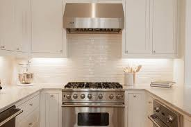 white kitchen with backsplash white glazed kitchen backsplash tiles design ideas