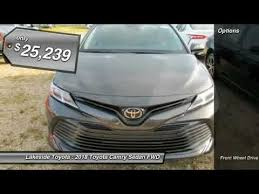 lakeside toyota used cars 2018 toyota camry metairie la jl1045
